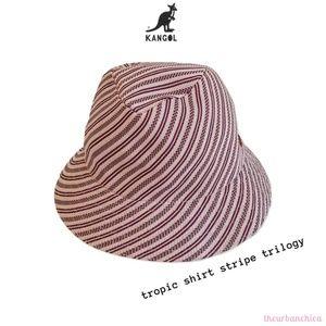 KANGOL Tropic Shirt Stripe Trilogy Hat